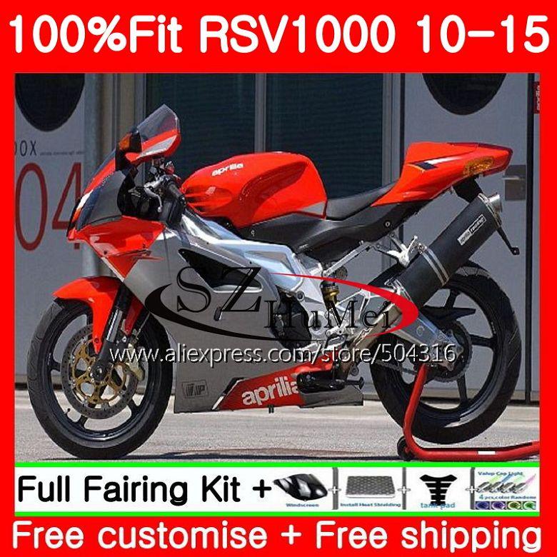 حقن ل ابريليا Mille RSV1000 10 11 12 13 14 15 الأحمر الأسود 83SH7 RSV 1000R R RSV1000R 2010 2011 2012 2013 2015 هدية