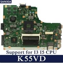 KEFU K55VD Laptop motherboard für ASUS K55VD K55A A55VD F55VD K55V original mainboard Unterstützung für I3 I5 CPU