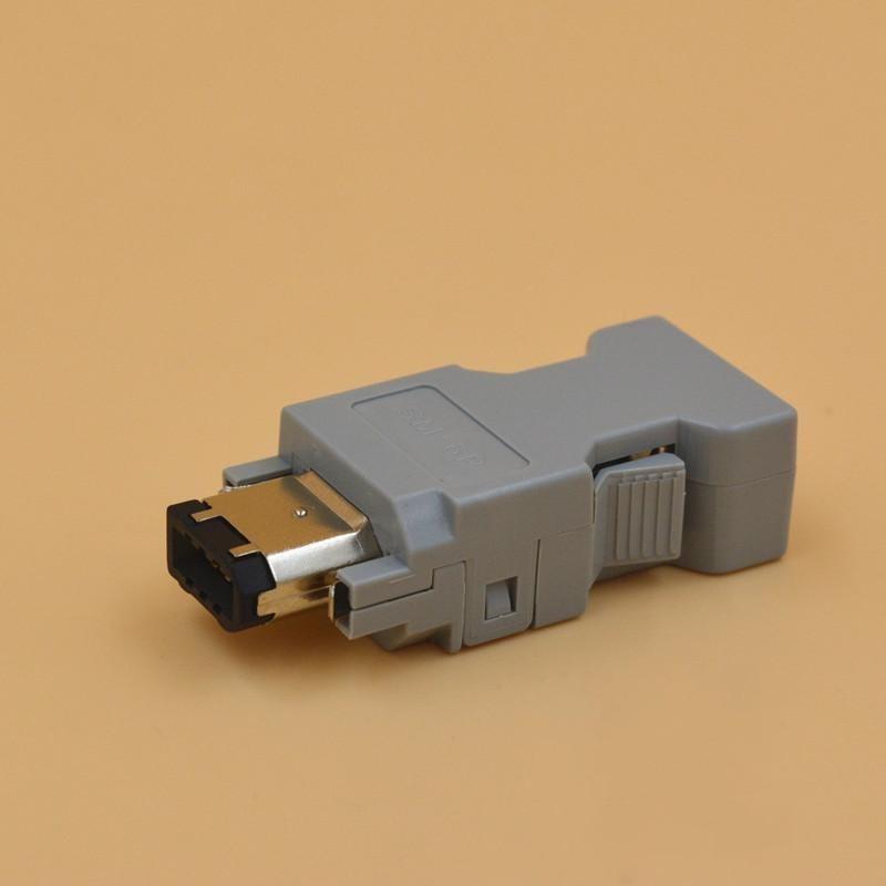 Коннектор 55100-0670 IEEE1394 Delta Panasonic Yasukawa Molex Servo 6-контактный кодер коннектор SM-6P IEEE 1394 a 1394 6P 6Pin