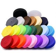 2CM Width 5 Yard/lot Colorful Elastic Band Nylon Multirole Spandex Ribbon Sewing Lace Trim Waist Band Garment Accessories