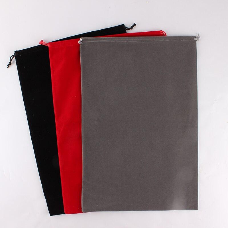 30*45cm bolsa de embalaje de joyería gran tela de bolsa de almacenamiento de diseño de logotipo de la caja de regalos de boda, Navidad bolsa