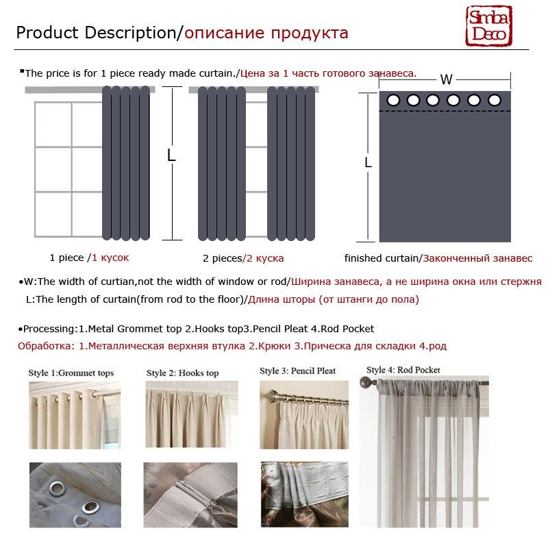 Купить с кэшбэком Modern Chenille Grey Curtains for Living Room Luxury Fabric Geometric Drapes for Bedroom Silver Lines Tents Window Treatment