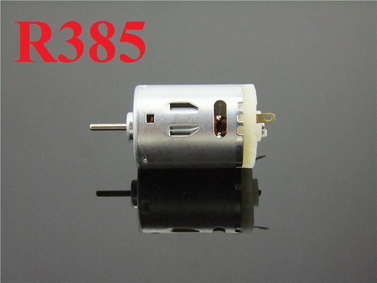 DC12-24V R385 Mini DC Motor 14000RPM DIY accesorios de juguete torque poderoso envío gratis a Rusia