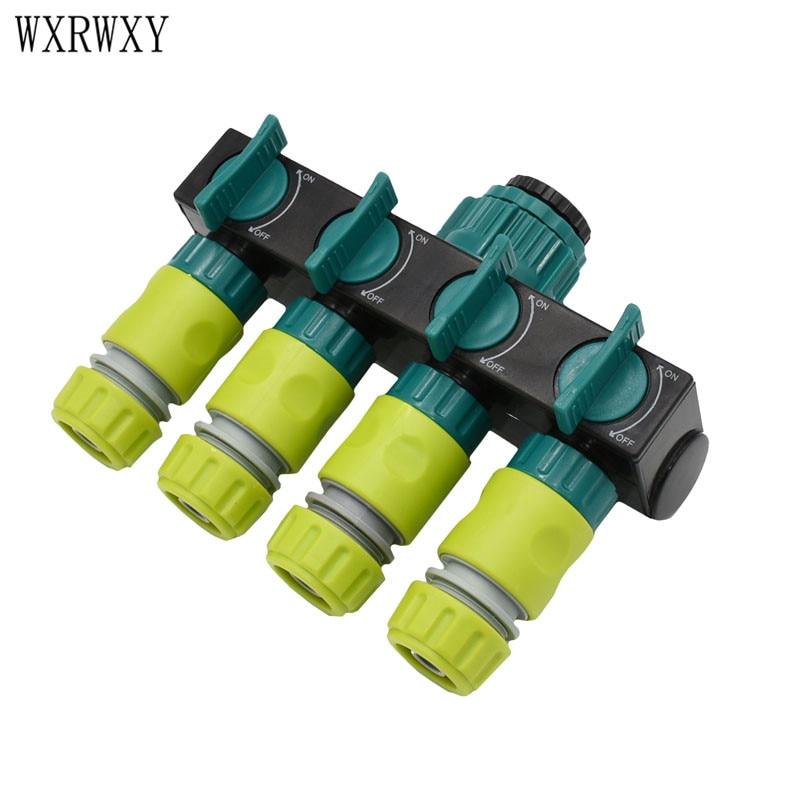 Шлангов wxrwxy для капельного орошения, разветвитель для садовых водопроводных шлангов, адаптер для крана, 1/2 коннектора для шлангов, 1 шт.