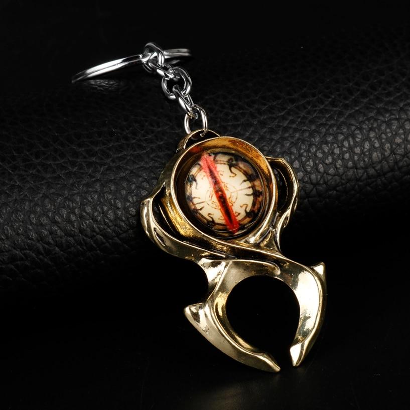 Новый брелок HEYu Diablo 3, брелок для часов Horadrim, амулет Horadrim, брелки-Цепочки, для любителей игр, рождественский подарок