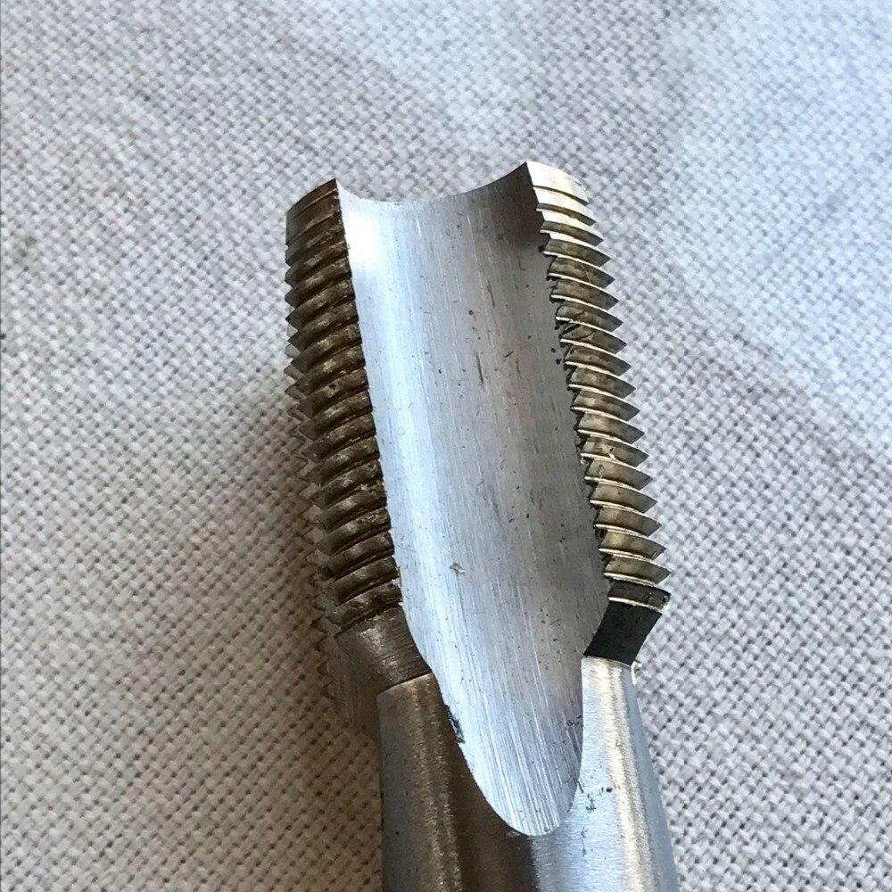 Envío gratis de 1 Pza de paso delgado estándar métrico M32 * 4,0mm de flauta recta HSS 6542 grifo de acero metal hierro aluminio roscado