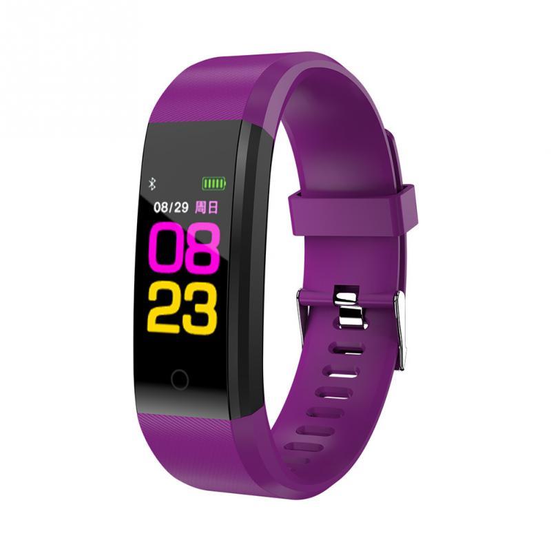 Pulsera inteligente recordatorio de sedentarismo Fitness monitoreo de sueño reloj Bluetooth JR ofertas