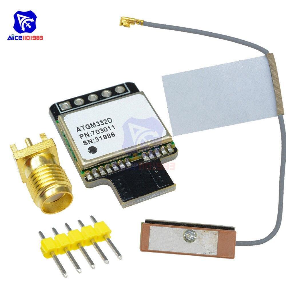 Módulo GPS Navegador de posicionamiento satelital de Control de vuelo de modo Dual con EEPROM en lugar de NEO-M8N