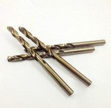"1 piezas 8,5mm 0.335 ""HSS-Co M35 mango recto Twist Drill Bits para acero inoxidable"