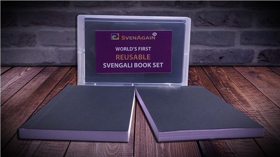 Svenback-مجموعة وسادة Svengali قابلة لإعادة الاستخدام ، من قبل Sven Lee - Magic ، خدع عقلية ، أوهام ، أداة ، وسادات ساحرة