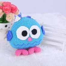Jouet de poupée hibou Crochet   Fait main, Kit damigurumi pour enfants débutants artisanat
