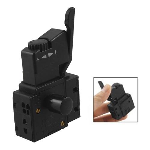 WSFS Hot FA2- 6 /1BEK SPST bloqueo en la herramienta eléctrica botón de disparo interruptor negro
