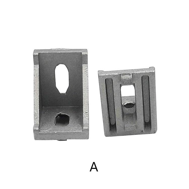 3030 bracket corner fitting angle aluminum 28x35 L  fastener for   profile 10pcs