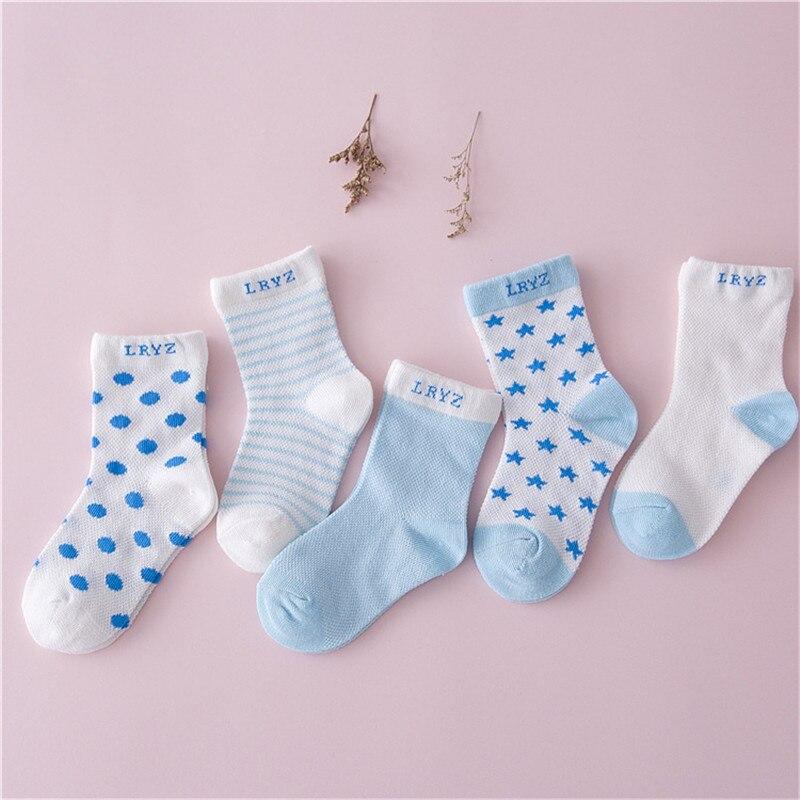 2017 nueva otoño Color dulce para niños de algodón calcetín de rayas bebé calcetines recién nacido antideslizante calcetines de niños lindo libre