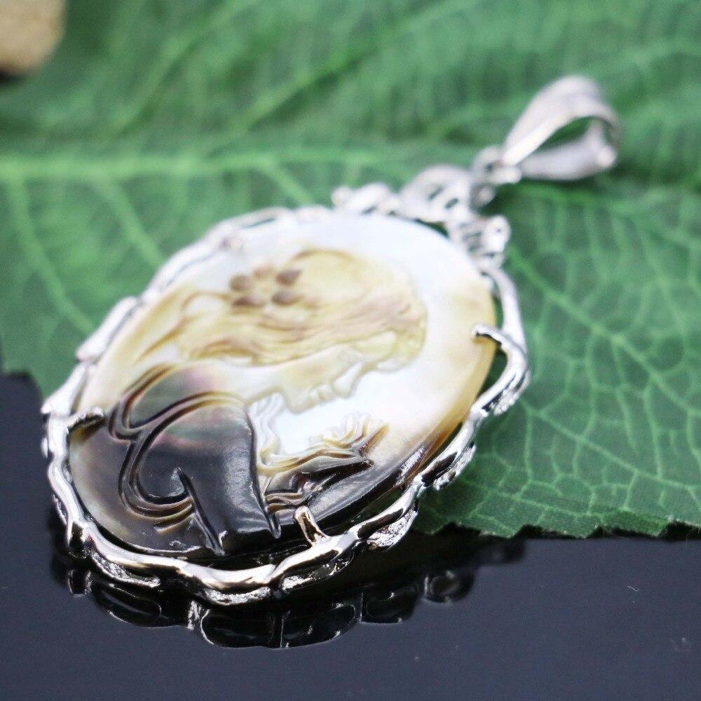 34*46mm Hot sale Prevalente caráter Abalone conchas do mar pingente de bordar artesanato fazendo design de jóias diy Acessórios