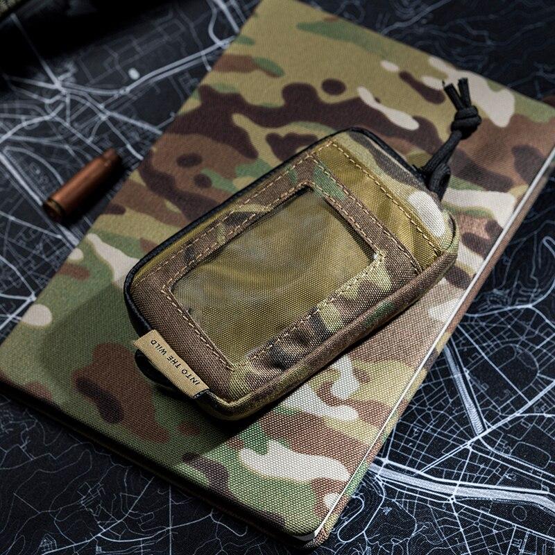 OneTigris, bolsa táctica Cool EDC, monedero portátil para cambio de llaves, Kit de viaje, monedero pequeño, ranuras para tarjetas y cremalleras impermeables