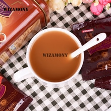1 boîte   Promotion! WIZAMONY tasse à café amincissante   Cuillère en céramique authentique de thaïlande service à thé