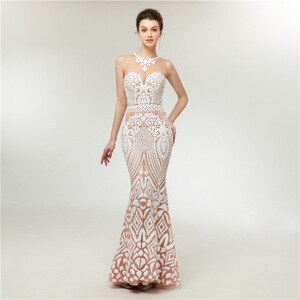 Illusion Vestido De Noiva White Backless Lace Mermaid  2018 Short Sleeve Wedding Gown Bride Dress
