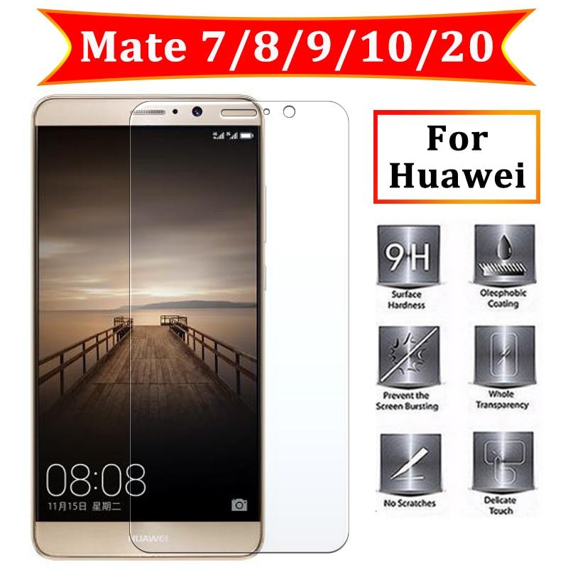 Закаленное стекло для Huawei Mate 10 pro Защитное 20 Lite пленка Huavei Huawai Mate7 8 9 lite 10pro