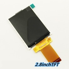 2.8 inch SPI 8/16bit TFT screen 40PIN ILI9341 240*320 LCD display