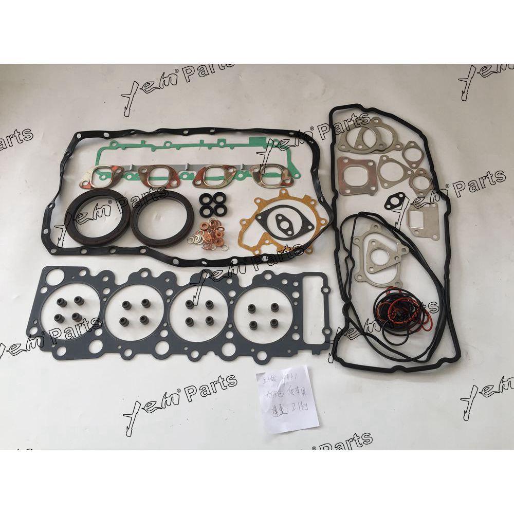 Für Isuzu 4HK1 motor teile volle dichtung satz umfassen zylinderkopf dichtung öl dichtung wasserpumpe dichtung verteiler dichtung