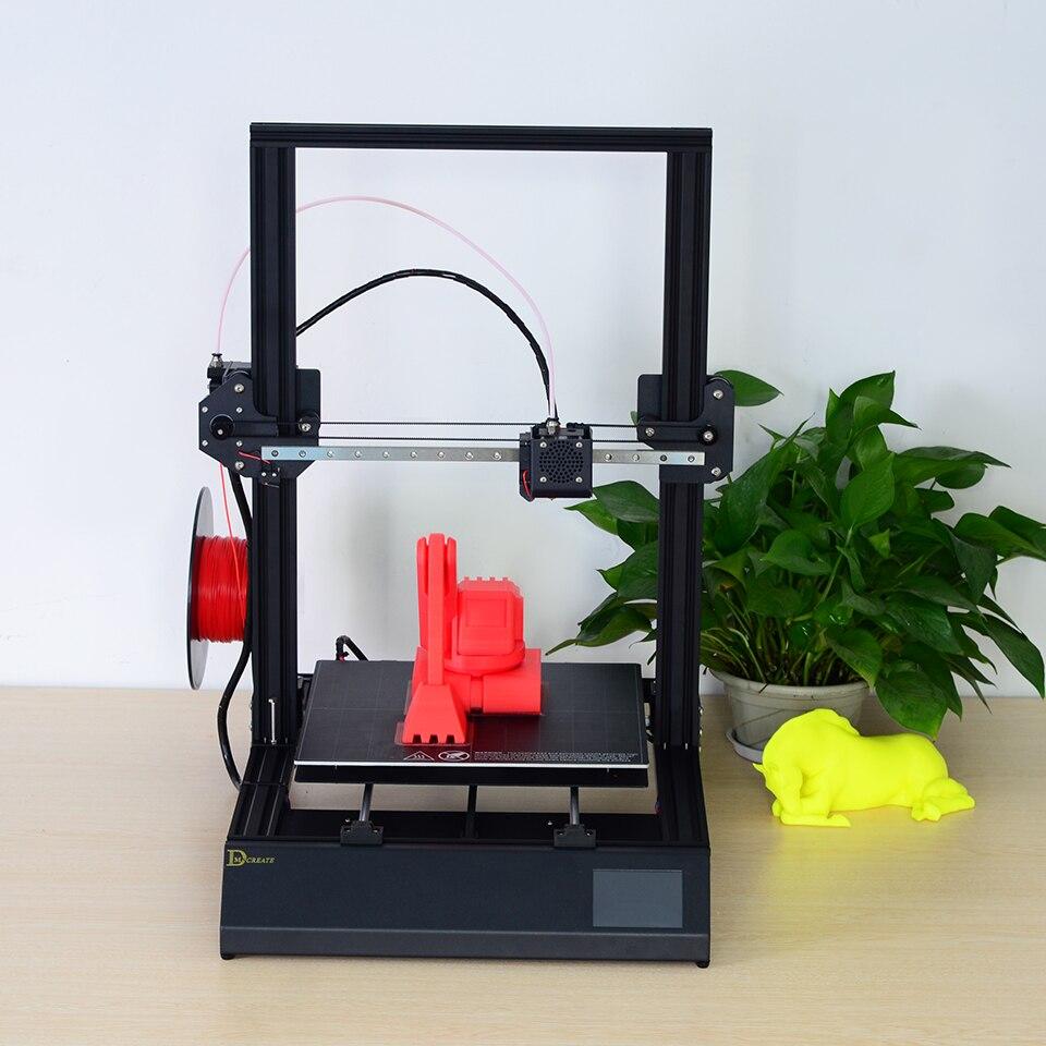 El más nuevo tamaño de impresión grande 300*300*400mm DMSCREATE DPX kit de impresora 3D marco de metal de buena calidad de alta precisión