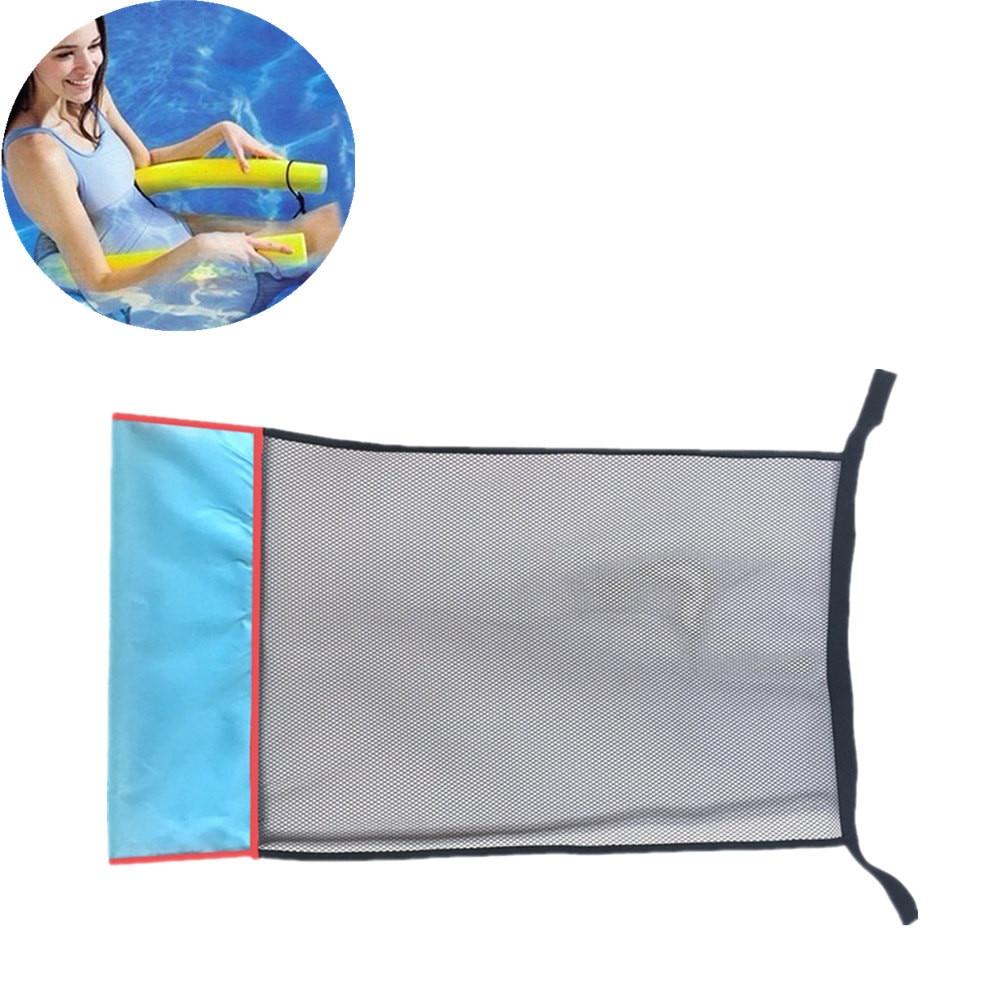 1 ud. De red para sillas de piscina con tallarines de 80x44 cm, asiento de cama flotante, silla flotante, accesorios DIY, red para sillas de piscina para fiestas b514
