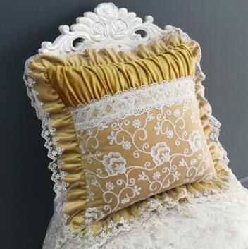 45x45cm/55x55cm luxury short velvet lace cushion cover decorative throw pillowcase sofa lumbar pillow cover home decor