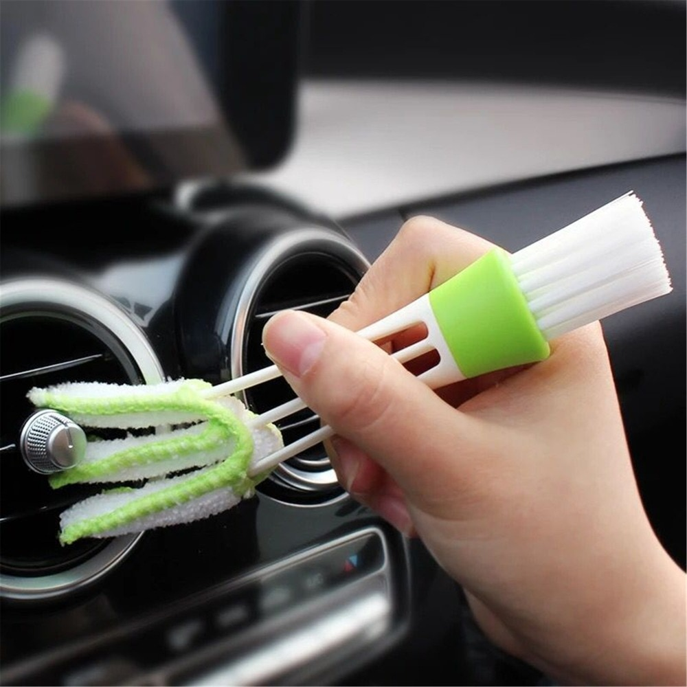 Car Stickers Multi-function clean brush For Subaru Volvo Audi Seat Leon Honda Civic Mini Cooper Kia Ceed For Hyundai Solaris