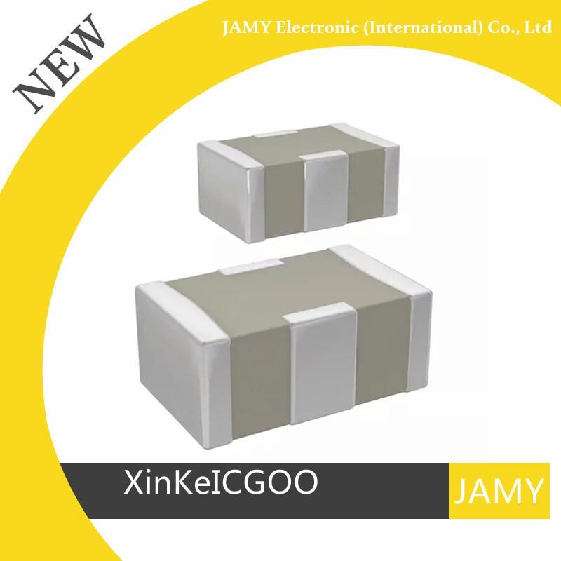 Condensador de tres terminales de capacitancia Original 100 unids/lote NFM21PC105B1A3D 1UF 20% 10V 0805 4A