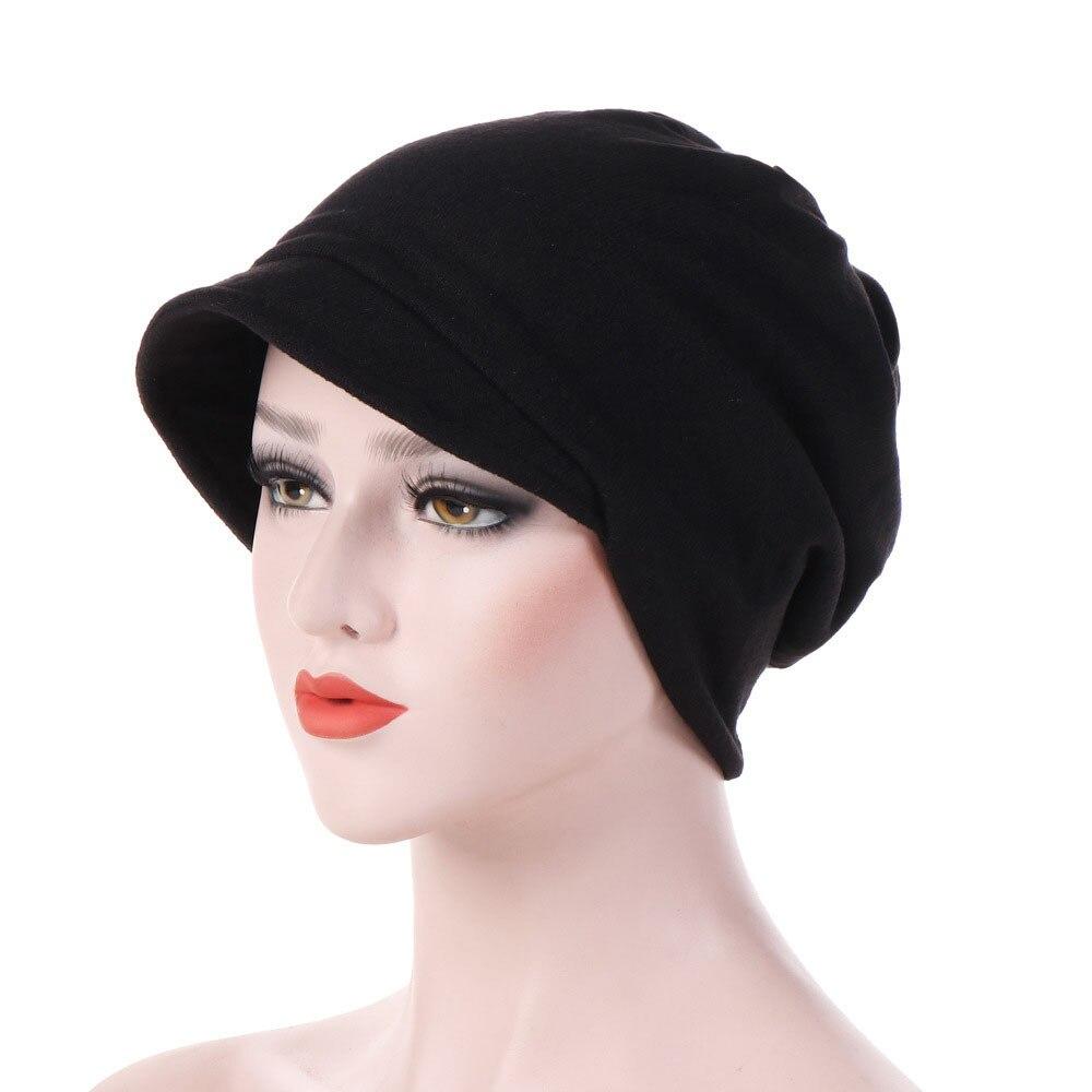 Шляпа женская, хлопковая, теплая, ветрозащитная, шапочка для химиотерапии, шляпа сомбреро, 2019