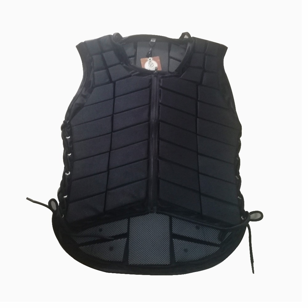 Unisex Horse Riding Protection Vest Waistcoat Safe Equestrian Eventer Body Unisex Race Armor Adjustable EVA Protector Jacket A