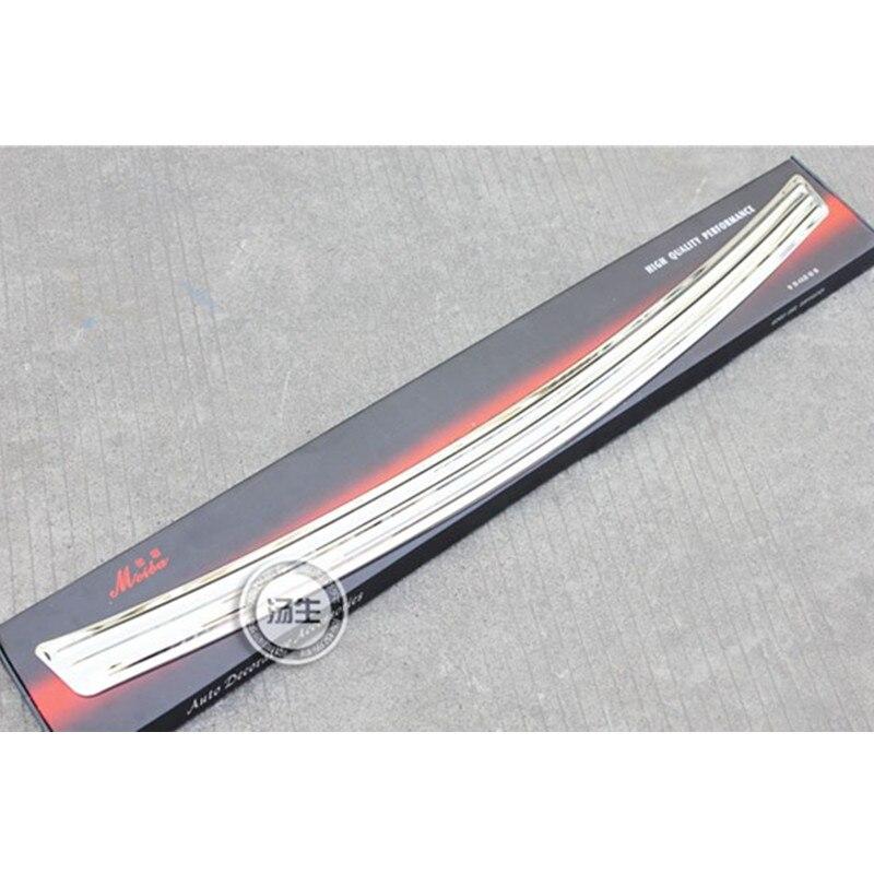 Protector de alféizar de parachoques trasero de acero inoxidable de alta calidad para Hyundai Santa Fe 2010-2011
