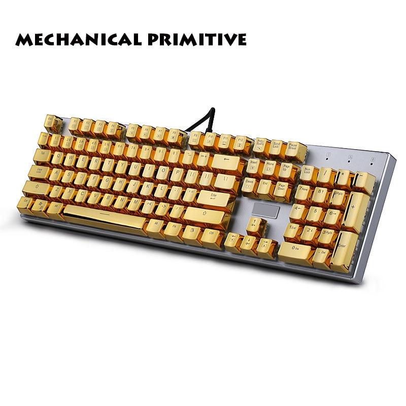 104 Keycaps PBT OEM Highly Personalized Translucidus Metal Mechanical Keyboard Keycaps