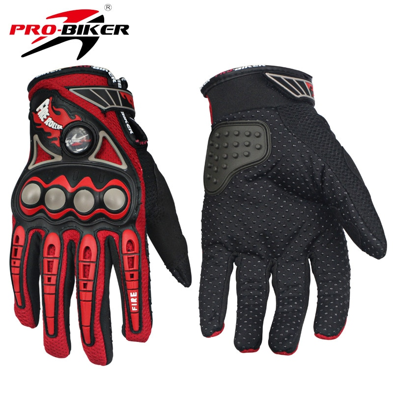 PRO-BIKER Motorcycle Racing Gloves Breathable Enduro Dirt Bike Moto Guantes Luvas Off Road Motocross Motorbike Riding Gloves