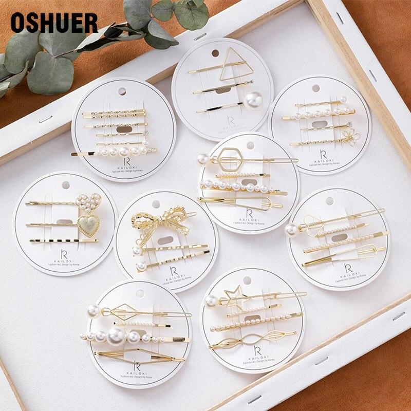 4 unids/set perla Metal horquilla tocado accesorios belleza estilo herramientas nueva llegada