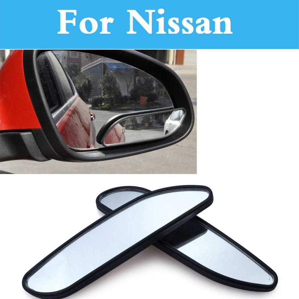 Espejo de punto ciego convexo gran angular ajustable para coche 361 para Nissan Altima Armada Avenir AD Almera clásico Juke Nismo 350Z 370Z