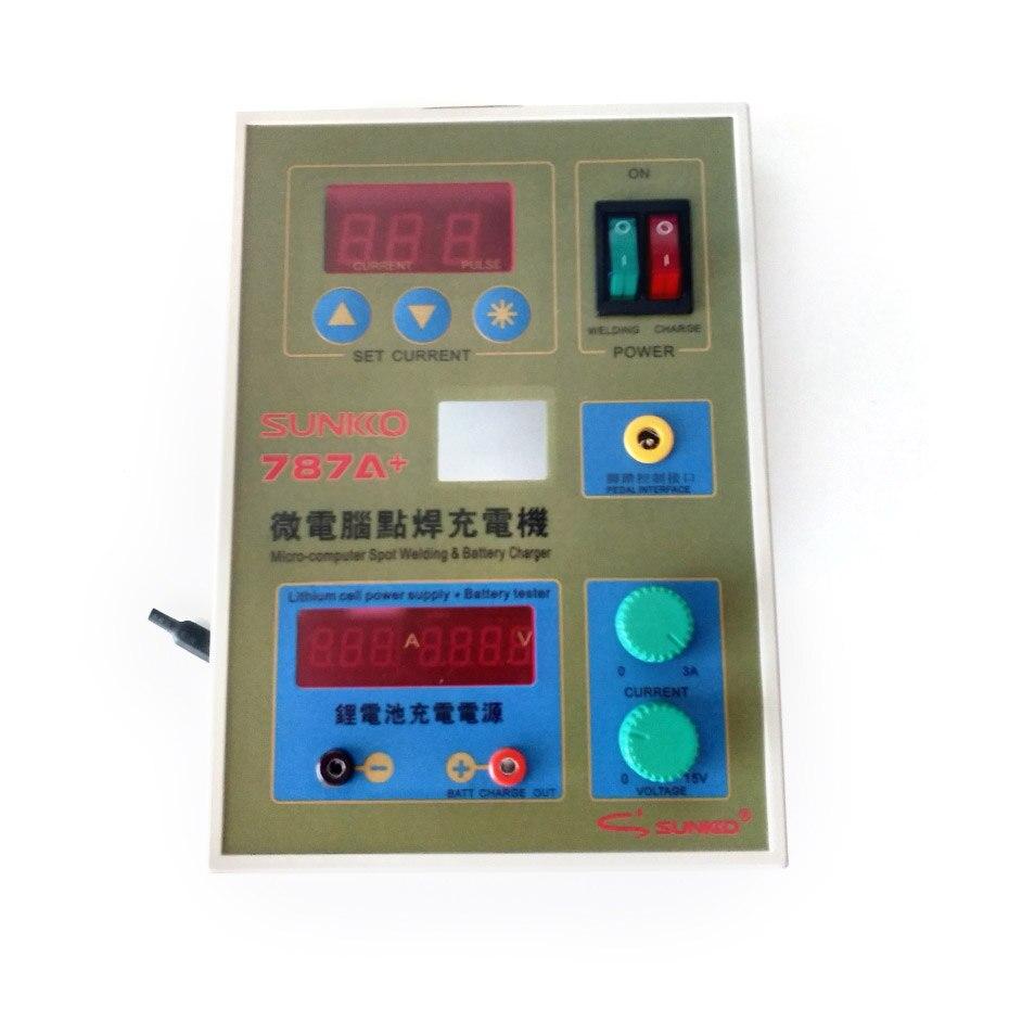 SUNKKO 787A carte de soudeuse par points pour 18650 batterie soudage par points Machine réparation remplacement 787A soudage par points Circuit imprimé