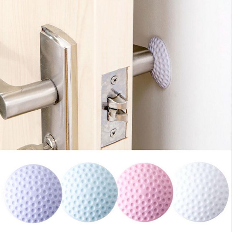 Protetor de parede de borracha para porta, adesivo de borracha, amortecedor para porta, proteção para parede, espessamento de parede, para batente de porta, 1 peça