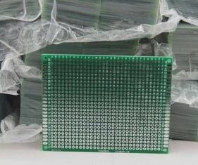 50 قطعة x 7x9 سم PROTOTYPE PCB 2 طبقة 7*9 لوحة مجلس العالمي 2.54 مللي متر مزدوجة الجانب الأخضر مجلس 1.6 مللي متر سمك موصل