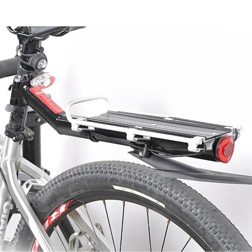 Soporte Universal para bicicleta, soporte para equipaje de bicicleta, rejilla trasera para carga, estante Reflector MTB, soporte de bolsa de tija de sillín, soporte para bicicleta