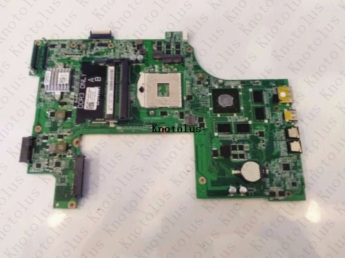 CN-037F3F 037F3 Para DELL N7110 DAV03AMB8E1 laptop motherboard DDR3 GT525 Frete Grátis 100% teste ok