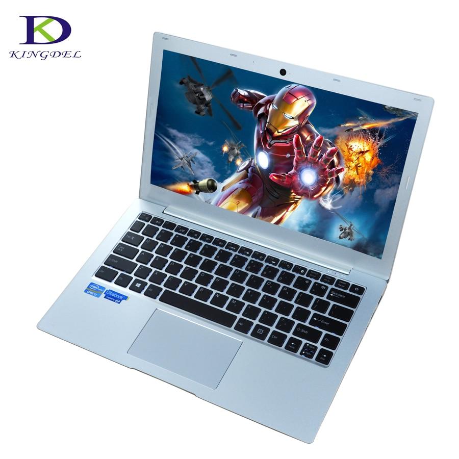 16G RAM 1TB SSD ordenador portátil de 13,3 pulgadas con Intel Core i7 7500U Teclado retroiluminado Ultrabook Plus Bluetooth tipo-c 4M Cahe jitana