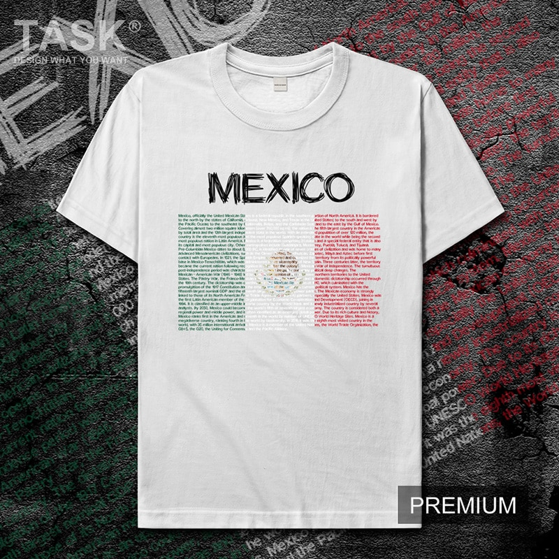 Camiseta MEX de Estados Unidos mexicano para hombre, camiseta casual jerseynew, camiseta de manga corta, ropa, sudadera, Equipo Nacional, país