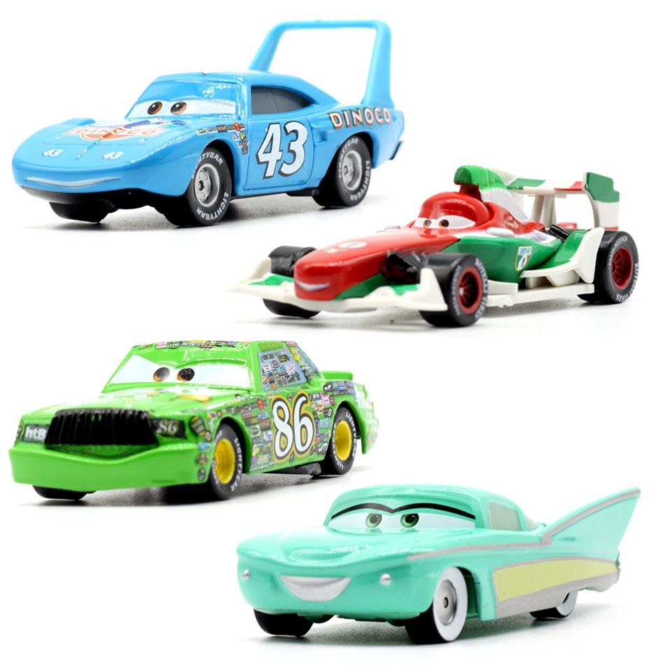 20 Estilo Disney Pixar carros Relâmpago McQueen 3 Chick Hicks Metal Diecast Toy Car 1:55 Solto Brand New In Estoque & Livre grátis