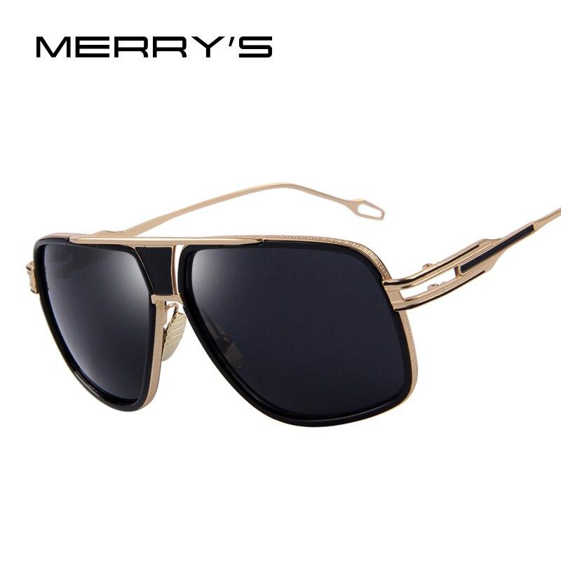 Óculos de sol dos homens mais novo vintage grande quadro óculos de sol verão estilo marca design óculos de sol uv400