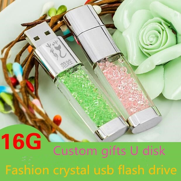 Capacidade Real de Cristal Jóias com Diamantes Unidade Flash Usb Memory Stick 64 GB 32 GB 16 GB 2.0 Mini Usb 128 GB Pendrive 512 GB Menina presente
