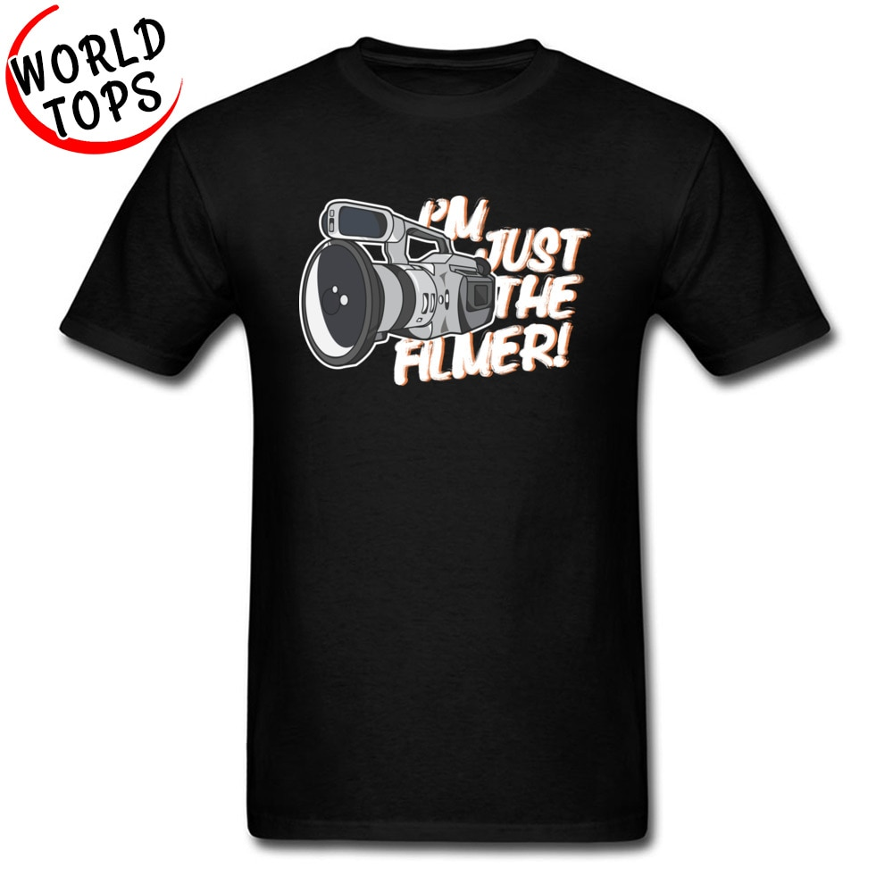 Super Cheap T Shirt 100% Cotton Film Photography Filmer Father Tshirt Plus Size 3XL Fashion Tee Shirt For Male