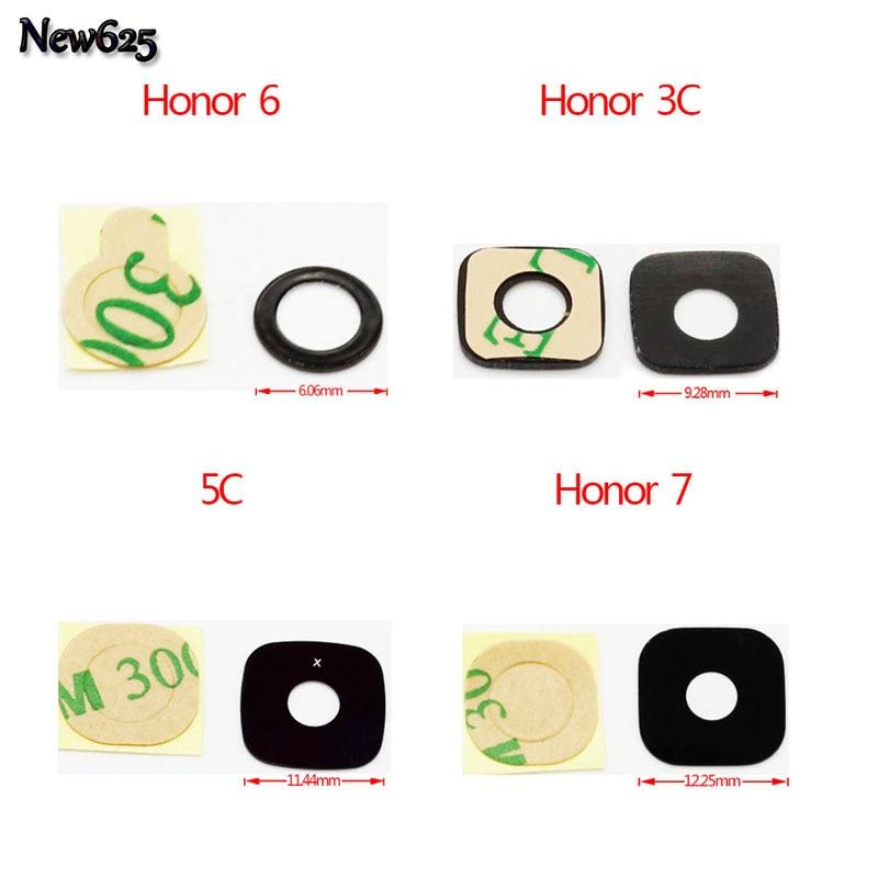 2 шт./лот, для Huawei P6 P7 Honor 6 /Honor 7 /Honor 3C 4X 4C 5C G8 G510 P8 max Y511 U9508 стеклянный объектив камеры + адхенсивная наклейка