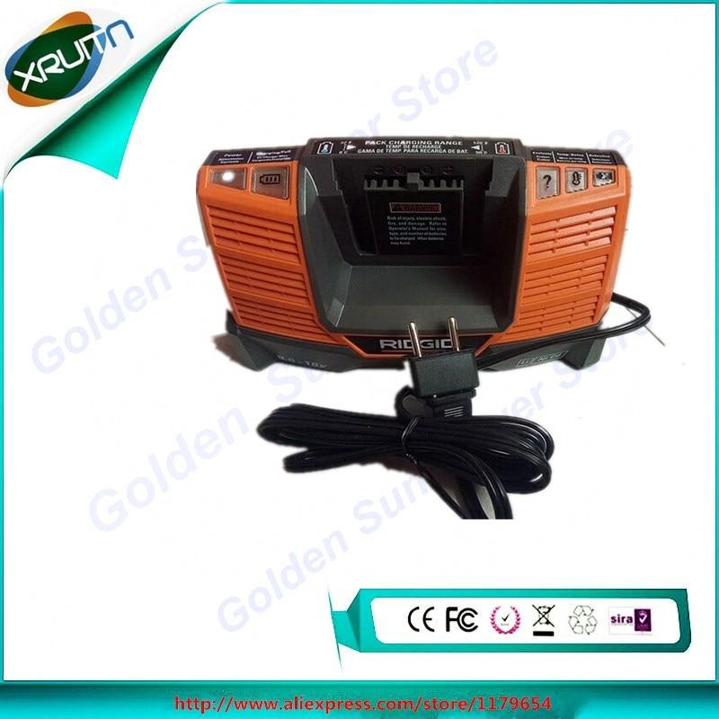 Free Shipping used for  AEG Ridgid 9.6V-18v li-ion ni-cd  battery charger  220V 110v